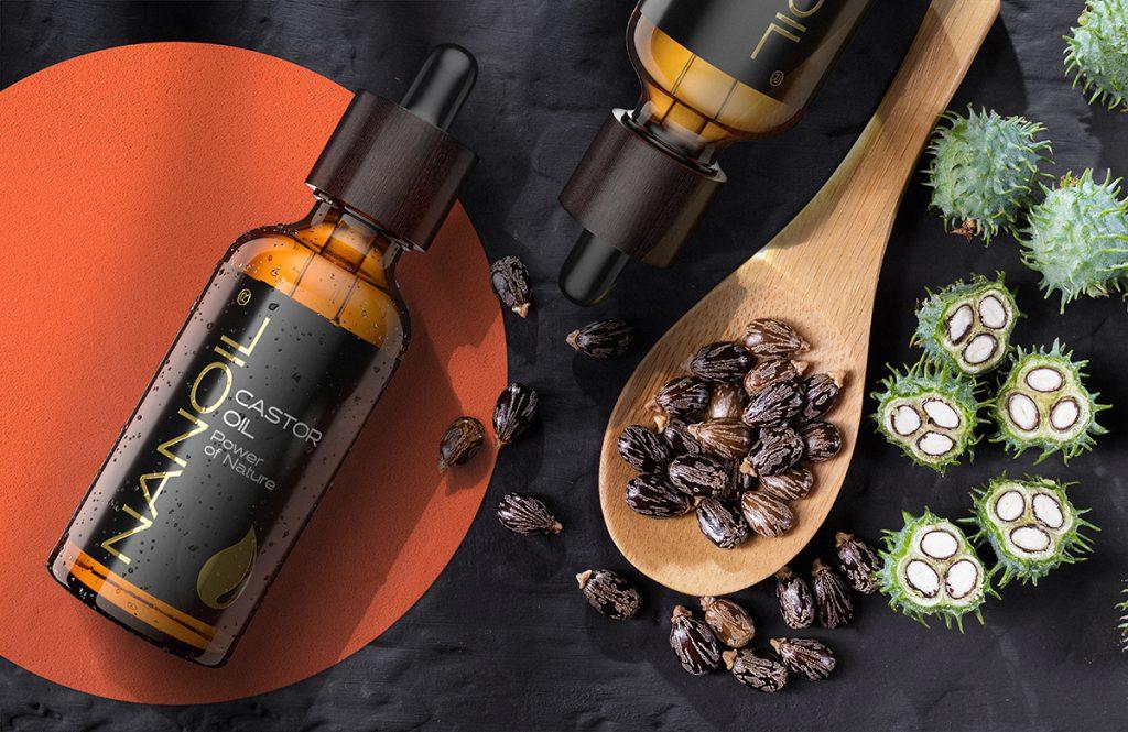 Nanoil Rizinusöl für Haarwachstum